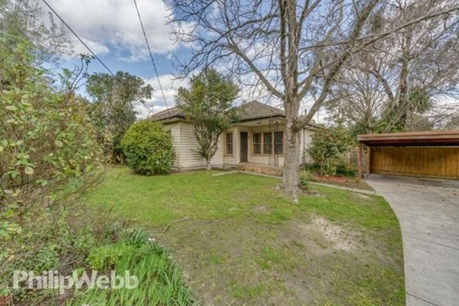 Picture of 6 Turnstone Street, DONCASTER EAST VIC 3109