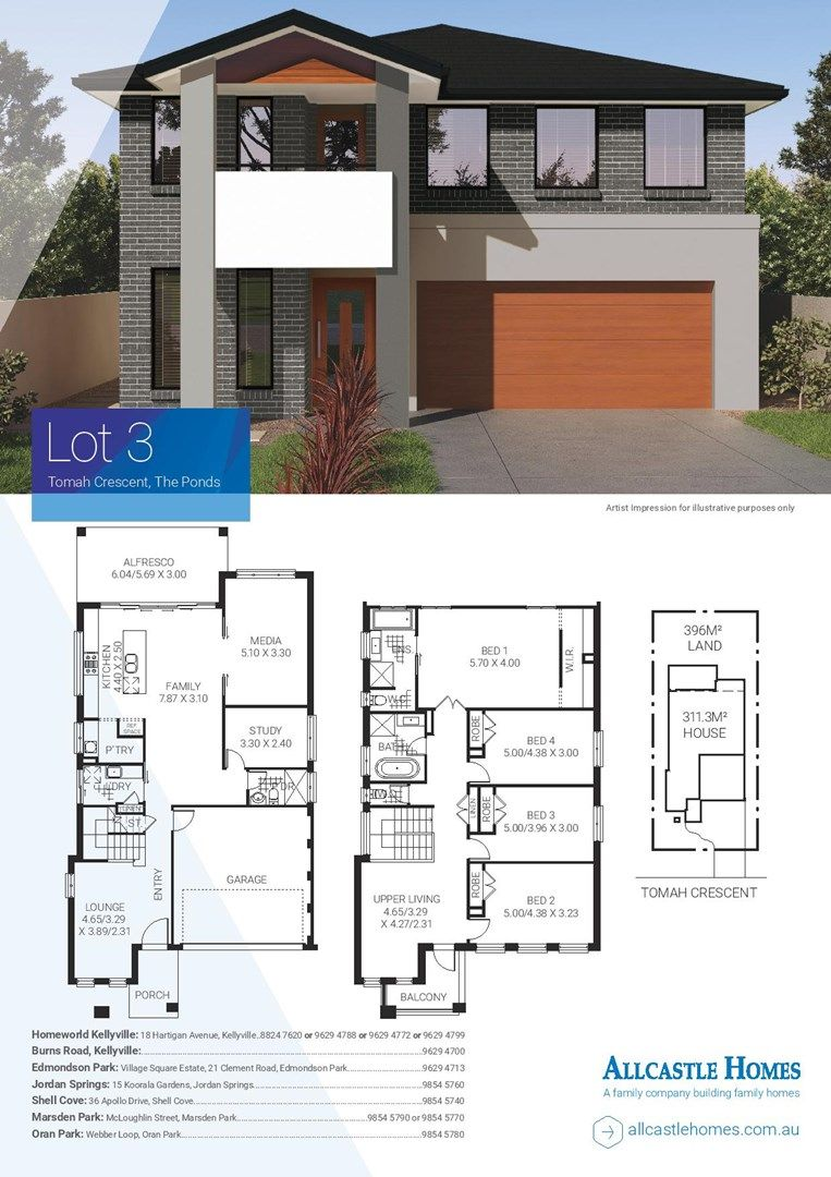 Lot 3 Tomah Crescent, The Ponds NSW 2769, Image 1