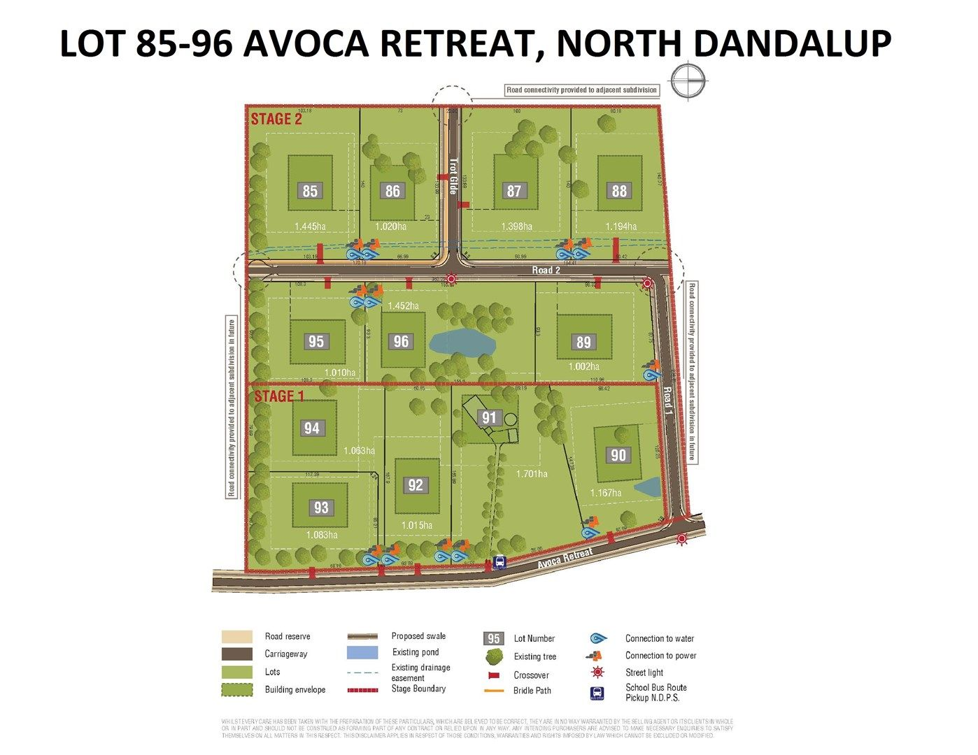 Lot 85-96 Avoca Retreat, North Dandalup WA 6207, Image 0