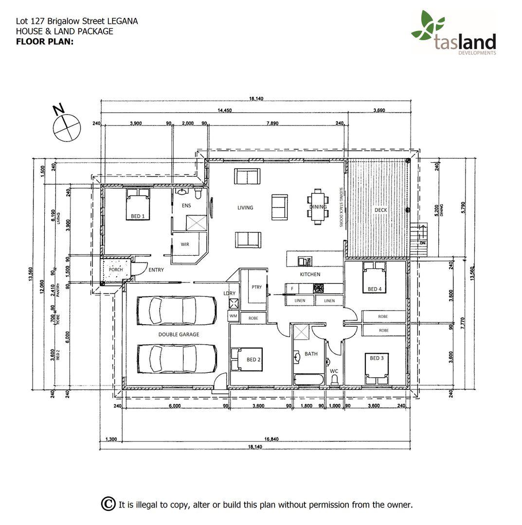 Lot 127 Brigalow Street, Legana TAS 7277, Image 2