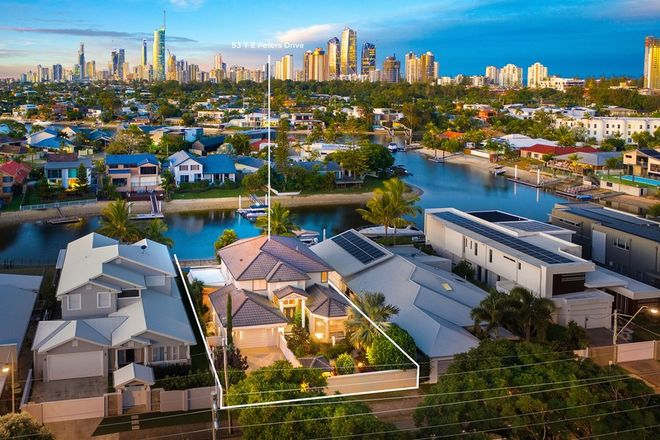 Picture of 53 T E Peters Drive, BROADBEACH WATERS QLD 4218
