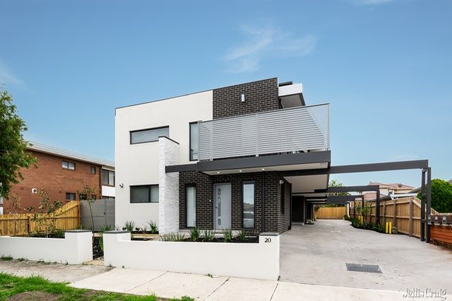 Picture of 4/20 Selbourne Street, COBURG VIC 3058