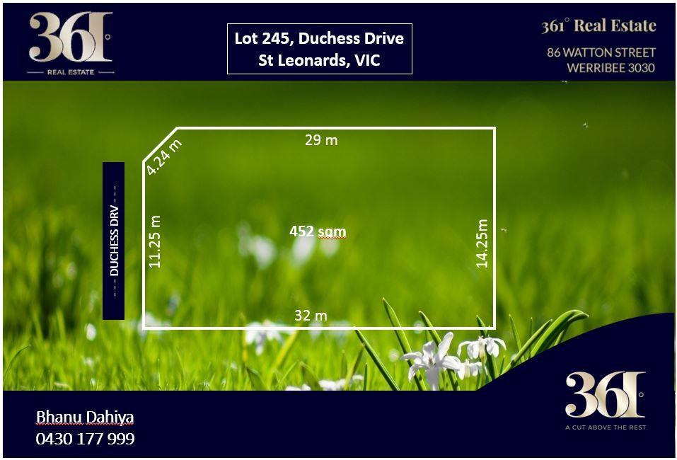 Lot 245 Duchess Drive, St Leonards VIC 3223, Image 0