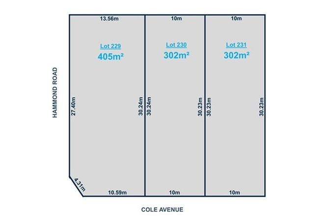 Picture of Lot 229-231 Cole Avenue, FINDON SA 5023
