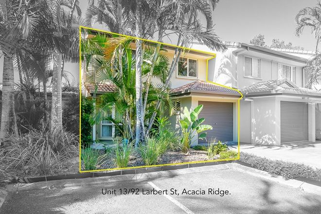 Picture of 13/92 Larbert Street, ACACIA RIDGE QLD 4110