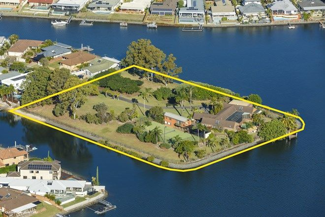 Picture of 34 McIlwain Drive, MERMAID WATERS QLD 4218