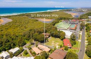 Picture of Unit 5/1 Bindaree Way, Ocean Shores NSW 2483