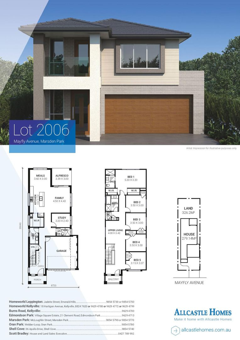 Lot 2006 (12) Mayfly Avenue, Marsden Park NSW 2765, Image 1
