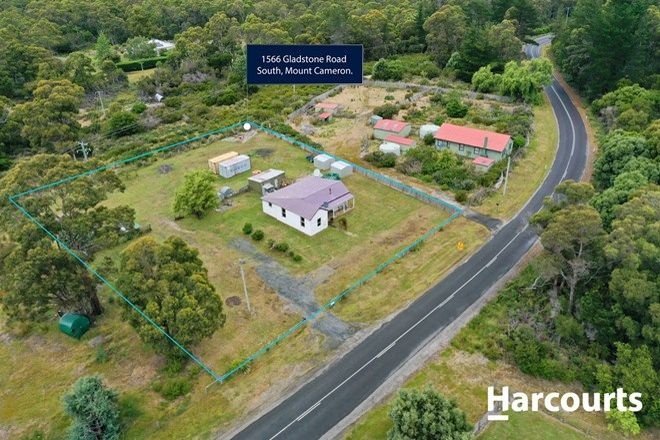Picture of 1566 Gladstone Road, SOUTH MOUNT CAMERON TAS 7264