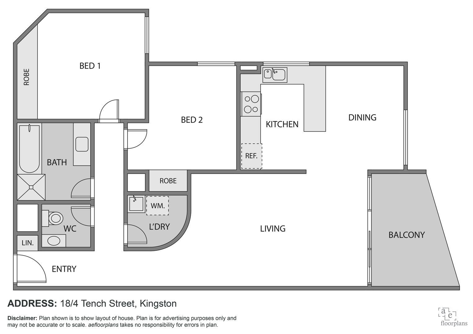 18/4 Tench Street, Kingston ACT 2604, Image 1