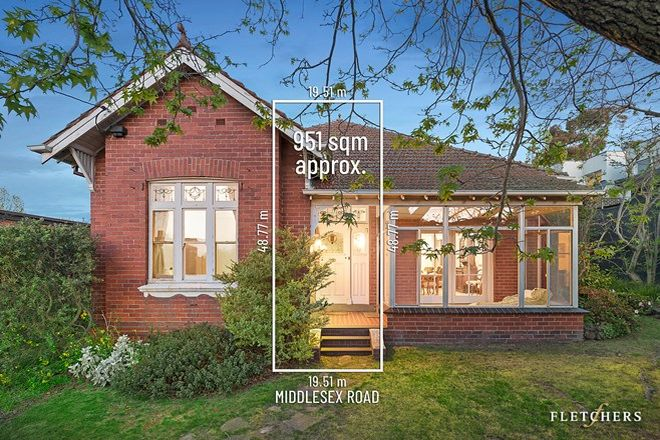 Picture of 1 Middlesex Road, SURREY HILLS VIC 3127