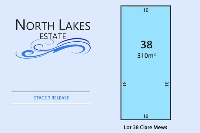 Picture of Lot 38 Clare Mews, MUNNO PARA WEST SA 5115