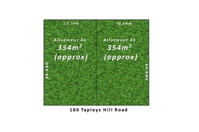 Picture of Allot 45 & 46/160 Tapleys Hill Road, ROYAL PARK SA 5014