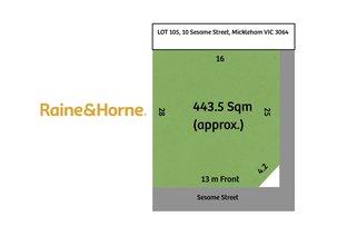 Picture of Lot 105, 10 Sesame Street, Mickleham VIC 3064