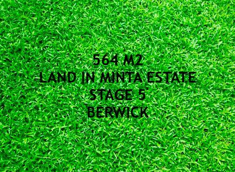 Lot 532 Minta Farm Estate, Berwick VIC 3806, Image 0