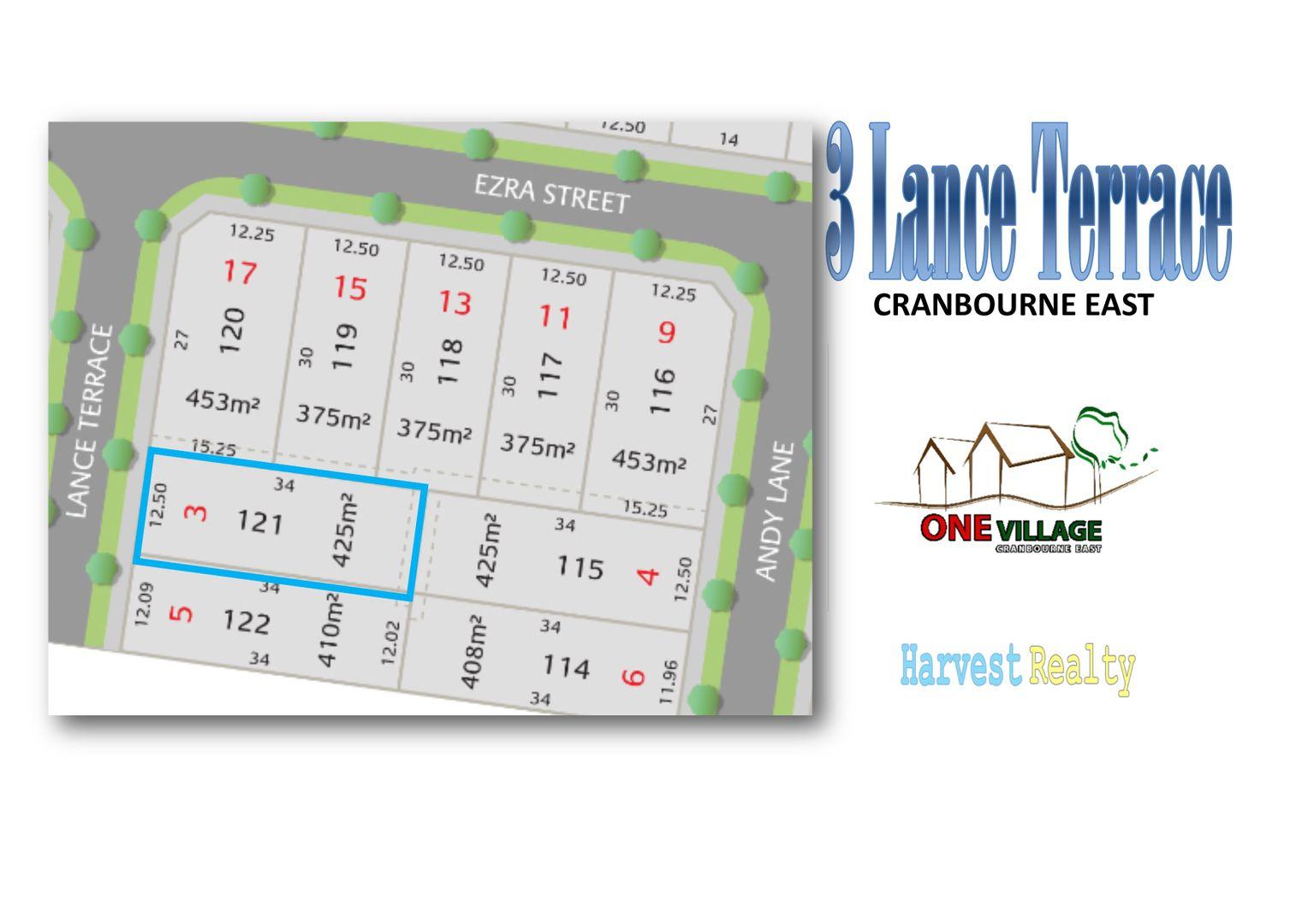 Lot 121/3 Lance Terrace, Cranbourne East VIC 3977, Image 0