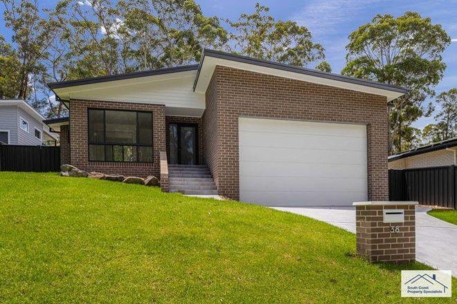 Picture of 38 Bellbird Drive, MALUA BAY NSW 2536