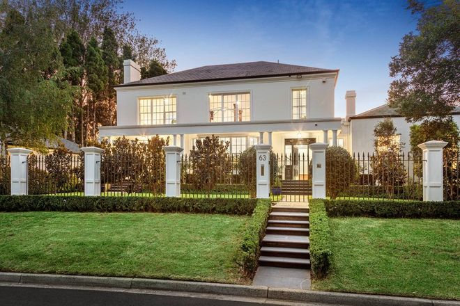 Picture of 63 Kensington Road, SOUTH YARRA VIC 3141
