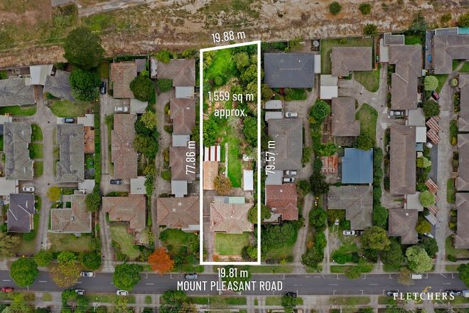 Picture of 15 Mount Pleasant Road, NUNAWADING VIC 3131
