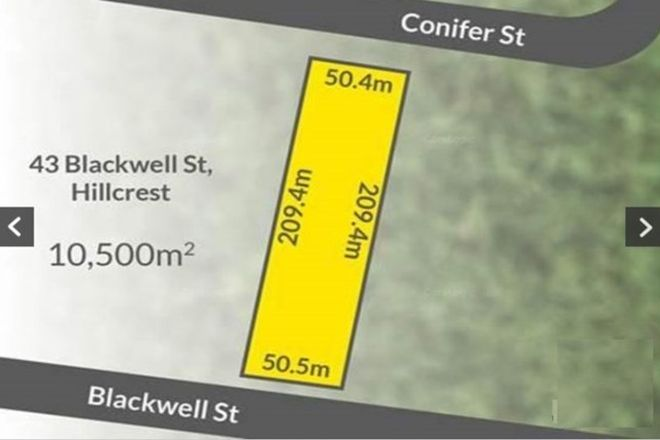Picture of 43-45 Blackwell Street, HILLCREST QLD 4118