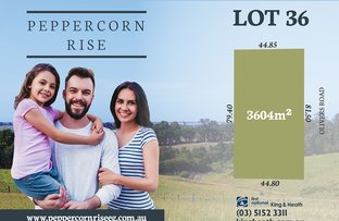 Picture of Lot 36 Peppercorn Way, Nicholson VIC 3882