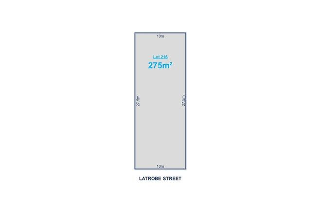 Picture of Lot 216 Latrobe Street, BLAIR ATHOL SA 5084