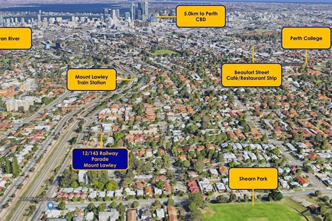 Picture of 12/143 Railway Parade, MOUNT LAWLEY WA 6050