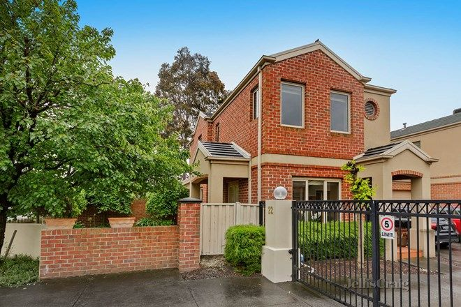 Picture of 1/22 Oriel Road, IVANHOE VIC 3079
