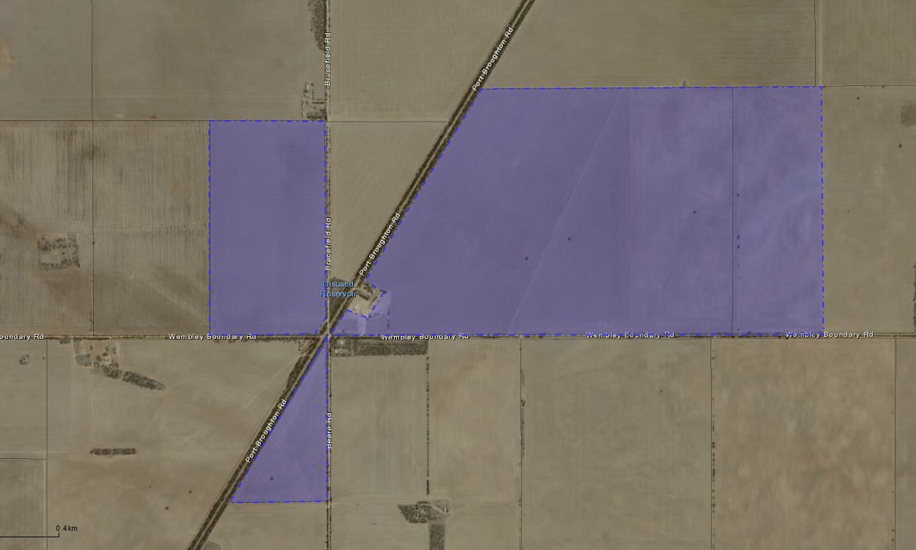 Allotment 598 Hundre Sections 13, 92 And Portion Of 14W Hundred Of Tick, Tickera SA 5555, Image 1