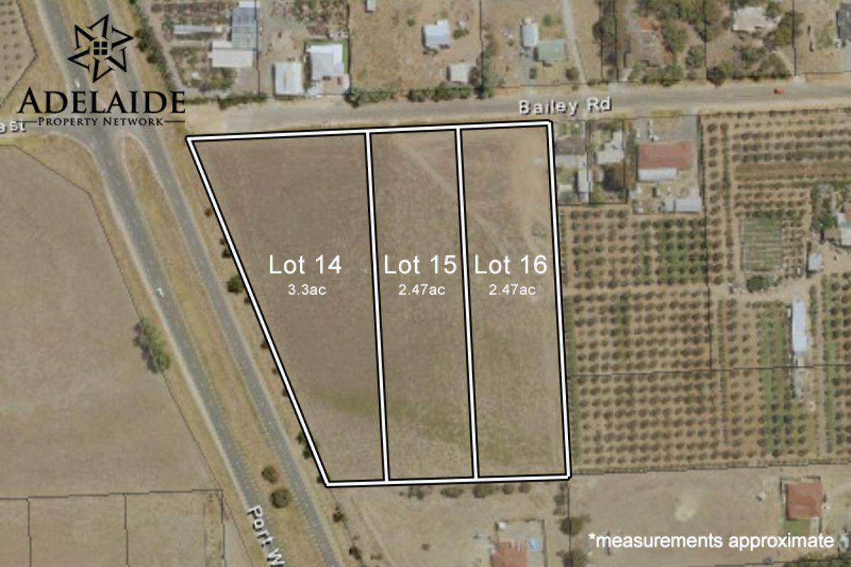 Lot 14, 15 & 16 Bailey Road, Two Wells SA 5501, Image 0