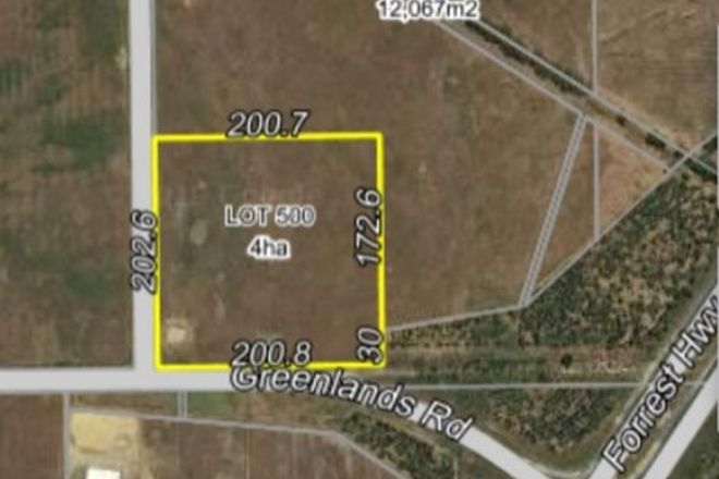 Picture of Lot 500 Greenlands Road, WEST PINJARRA WA 6208