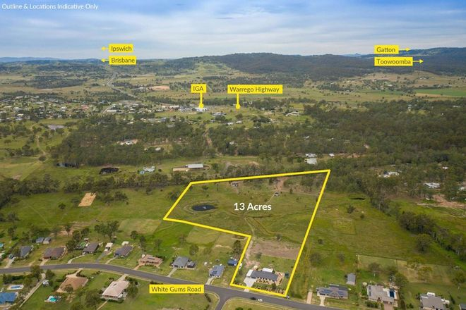 Picture of 47 White Gums Road, HATTON VALE QLD 4341