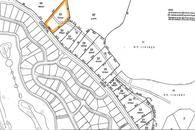 Picture of Lot 33 Coastal View Drive, TALLWOODS VILLAGE NSW 2430