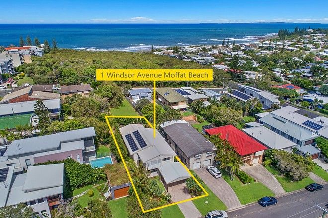 Picture of 1 Windsor Avenue, MOFFAT BEACH QLD 4551