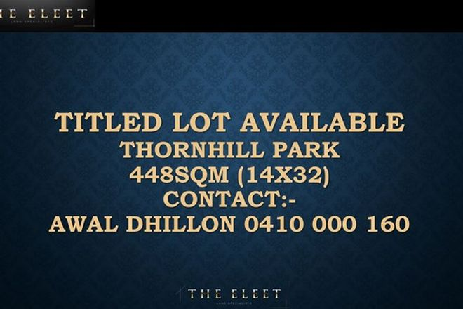Picture of THORNHILL PARK VIC 3335