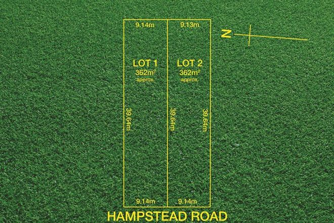 Picture of Lot 1 & 2, 141 Hampstead Road, GREENACRES SA 5086