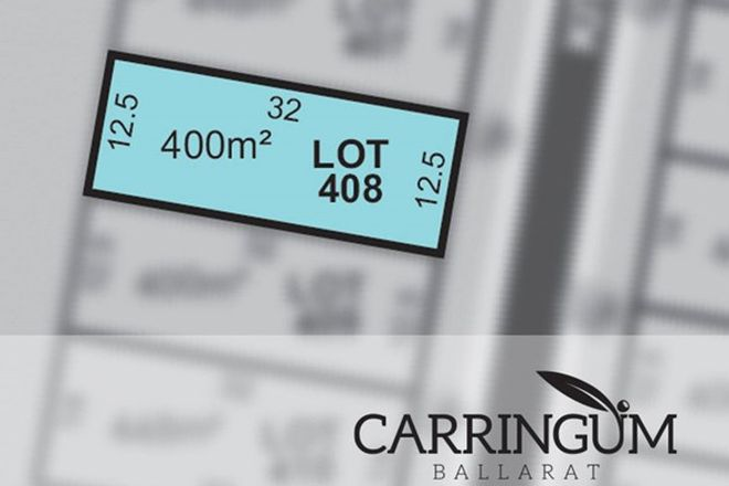 Picture of Carringum/Lot 408 Kite Street, WINTER VALLEY VIC 3358
