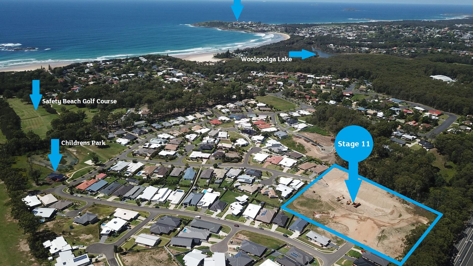 Lot 210 Admiralty Drive - Stage 11, Safety Beach NSW 2456, Image 2