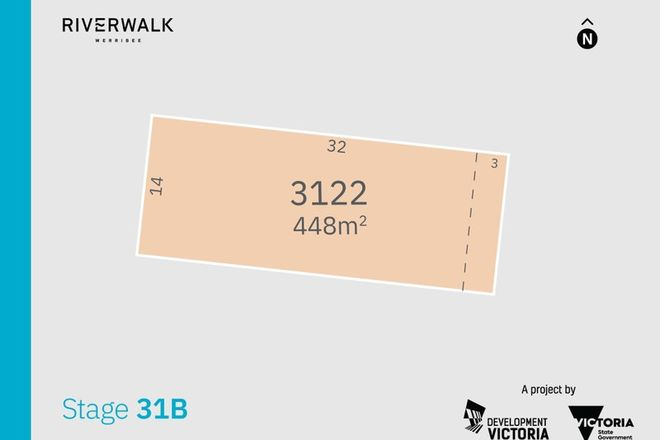 Picture of Lot 3122 (Riverwalk) Priya Street, WERRIBEE VIC 3030