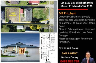 Picture of 112/387 Elizabeth Drive, Mount Pritchard NSW 2170