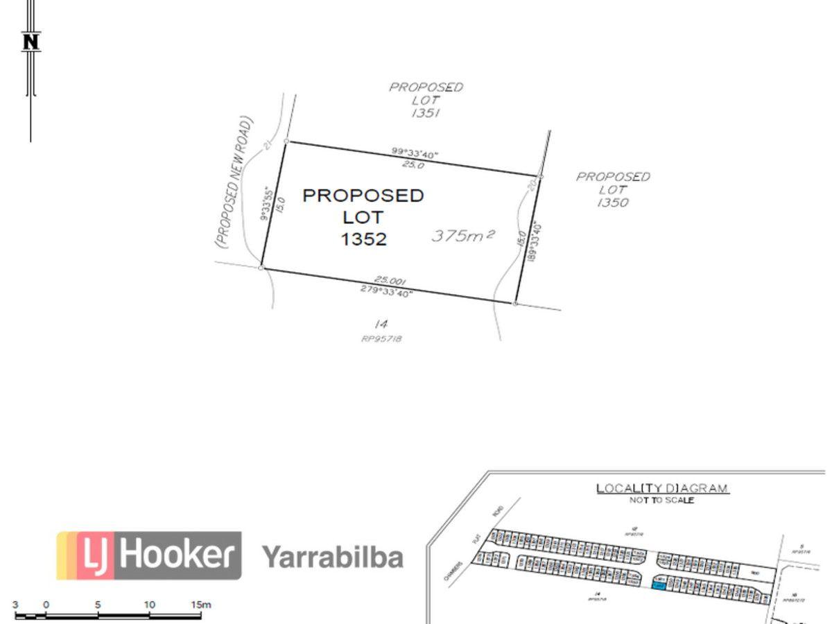 Lot 1352/366 Chambers Flat Road, Logan Reserve QLD 4133, Image 1