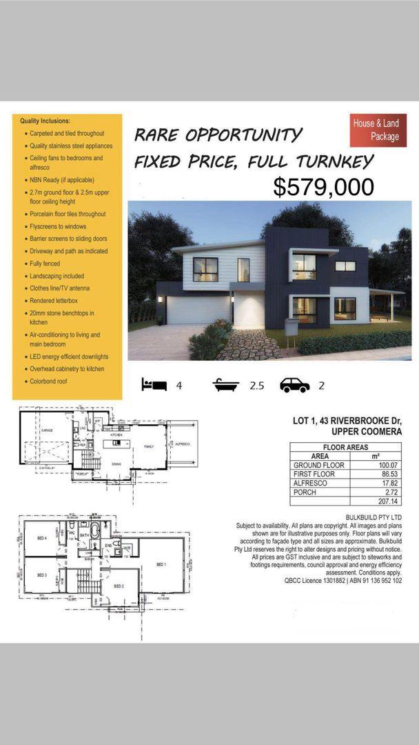 43 Riverbrooke Drive, Upper Coomera QLD 4209, Image 1