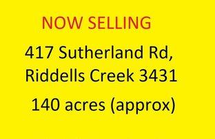 Picture of 417 Sutherlands Road, Riddells Creek VIC 3431