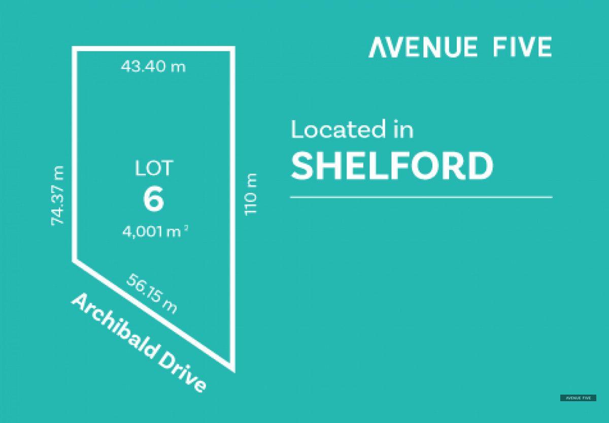 Lot 6 Archibold Drive, Shelford VIC 3329, Image 0