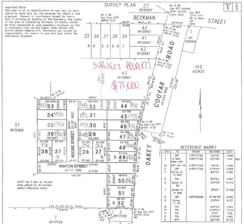 43 Oakey-Cooyar Road, Kulpi QLD 4352, Image 0