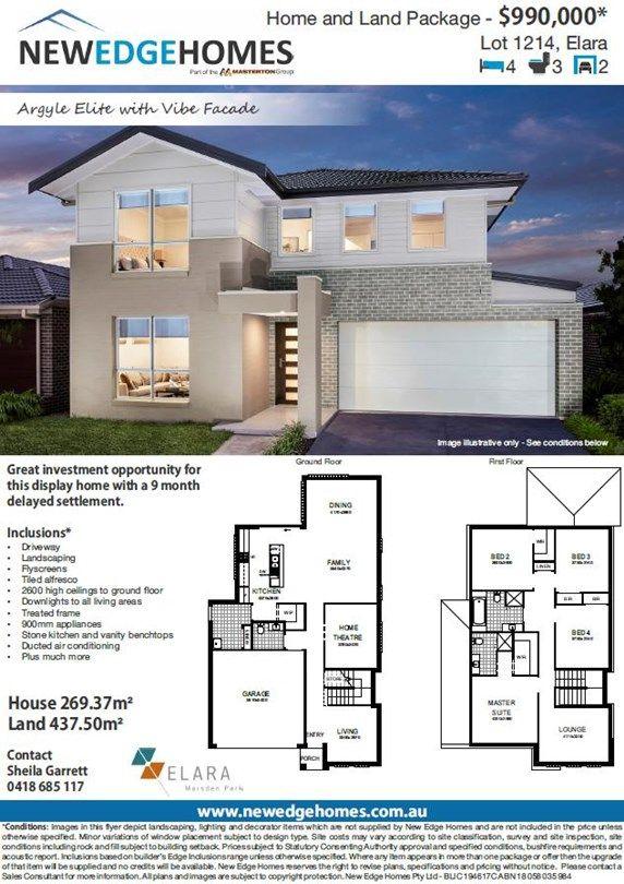 Lot 1214 Proposed Road (Elara), Marsden Park NSW 2765, Image 2