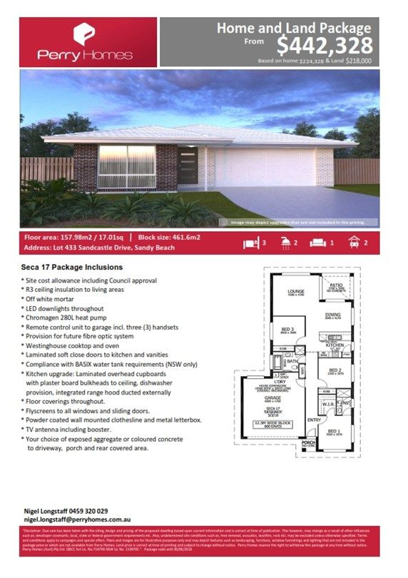Lot 433 Sandcastle Drive , Sandy Beach NSW 2456, Image 1