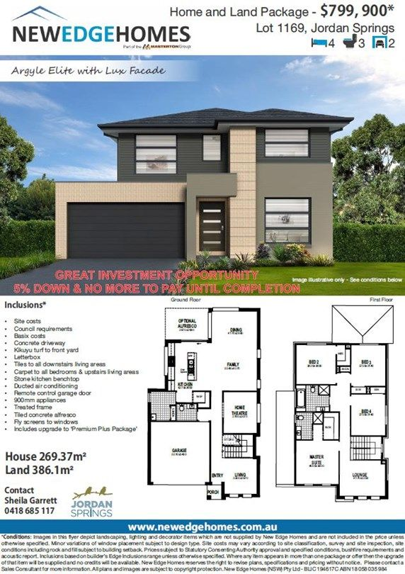 Lot 1169 58 Flotilla Circuit, Llandilo NSW 2747, Image 2