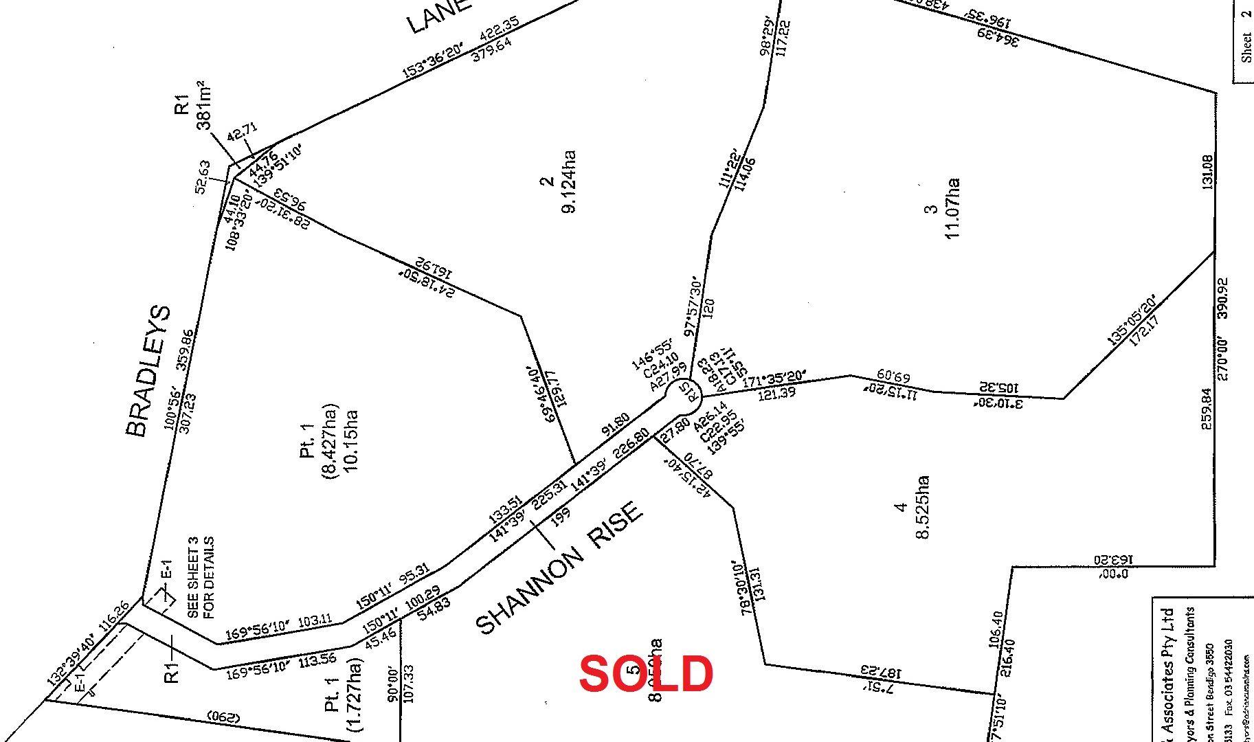 Lot 1, 2, 3 & 4 Shannon Rise, Heathcote VIC 3523, Image 1