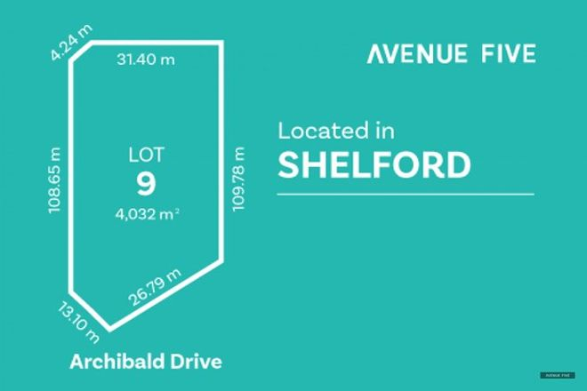 Picture of Lot 9 Archibold Drive, SHELFORD VIC 3329